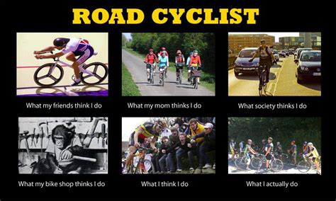 Cycling Memes - road cyclist meme ready set pedal