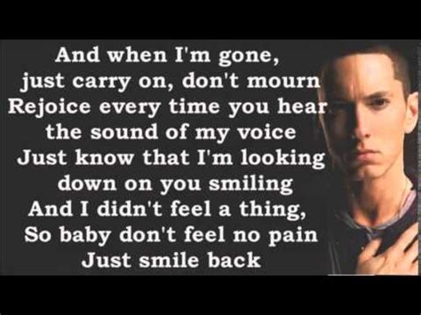 eminem when i m gone lyrics eminem when i m gone lyrics hd hq youtube