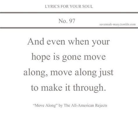 lyrics 97s lyrics for your soul 97 lyrics move along all american