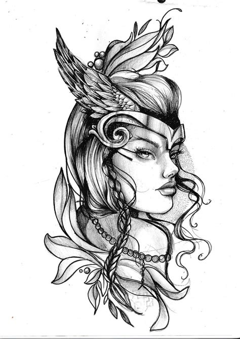 valkyrie tattoos 25 best valkyrie ideas on viking