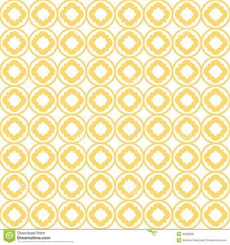 Quatrefoil Lattice Pattern stock vector. Image of flower