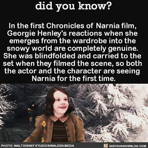fakta film narnia just watch narnia while listening to the cast commentary