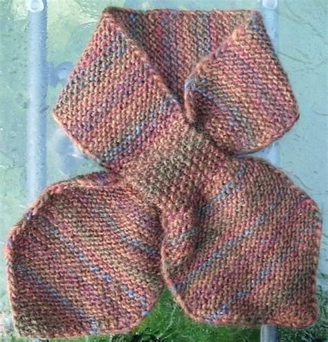 knitting pattern scarf with slot slotted scarf free pattern knitting and crocheting