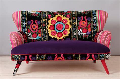 bohemian couch etsy finds unique patchwork bohemian sofa