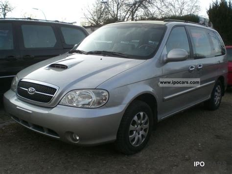 Kia Seven Seater 2004 Kia Carnival 2 9 Crdi Ex 7 Seater Air Car Photo
