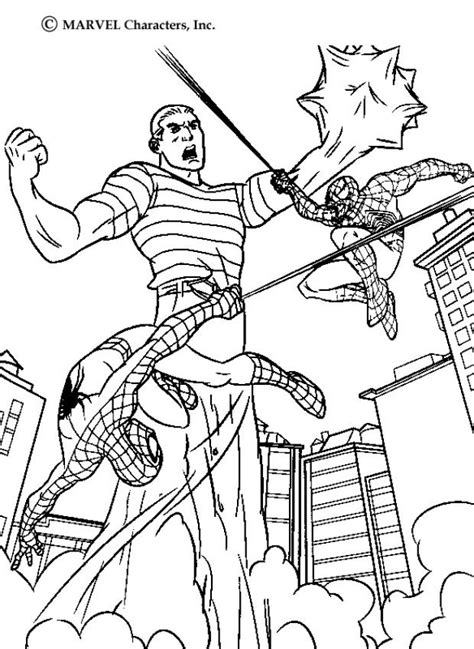 printable heroes goblins fight action coloring pages hellokids com
