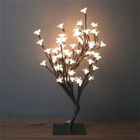 lighted tree home decor new led lights cherry blossom tree desk decor centerpiece gift floral office ebay