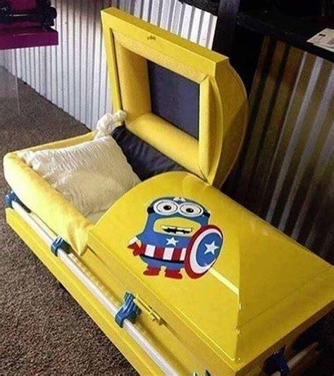 minion couch a minion coffin ofcoursethatsathing