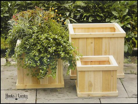 Planters Outdoor by Wooden Garden Planters Wood Garden Planter Wooden Planters