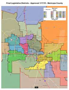 arizona legislative districts map maps