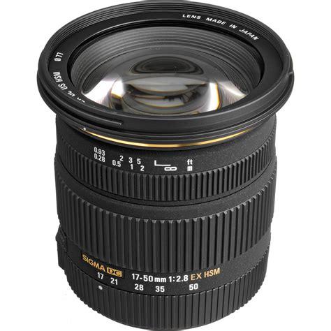Sigma 17 50mm F2 8 Ex Dc Os Hsm Black Lens For Nikon sigma 17 50mm f 2 8 ex dc os hsm zoom lens for sigma dslrs
