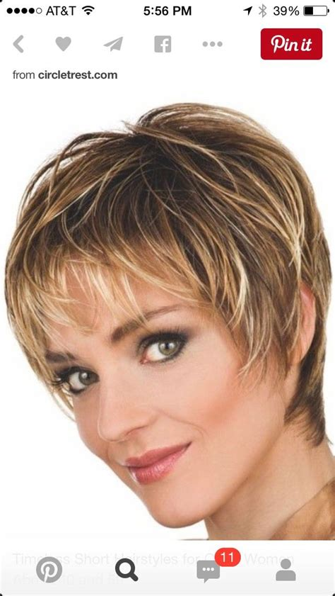 hair styles for age 52 short hairstyles for older women with fine thin hair hair