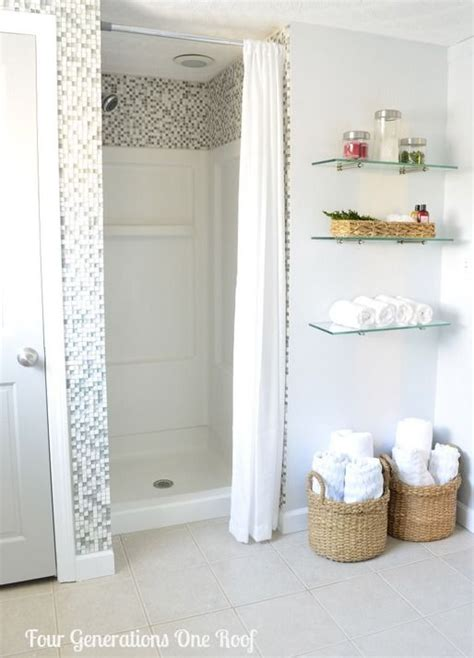 bathroom shower ideas on a budget diy bathroom renovation reveal budget bathroom shower