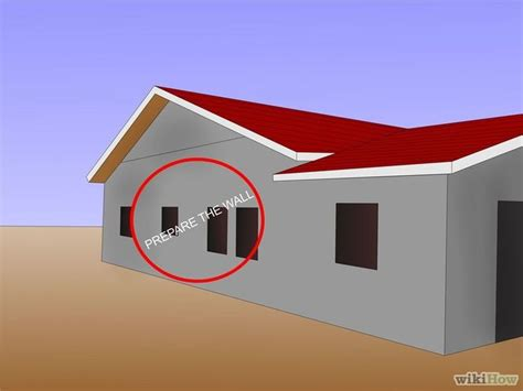 Pelapis Dinding Vinyl How To Install Vinyl Siding With Pictures Wikihow