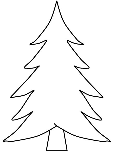 Pine Tree Template Free white pine tree coloring pages coloring pages