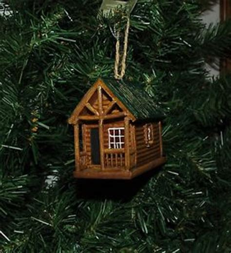 cabin christmas ornaments ebay