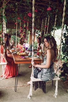 beautiful  sweet bohemian wedding decoration