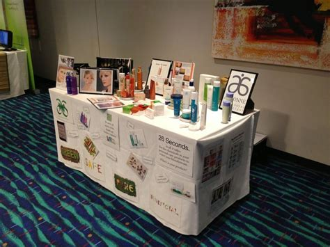 trade table display ideas 13 best images about arbonne table displays on
