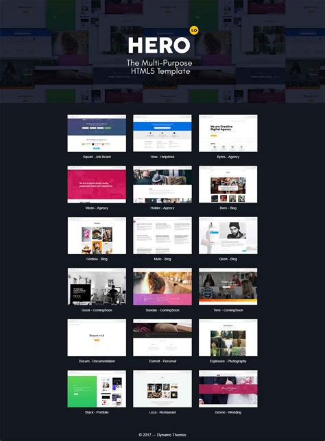 hero layout bootstrap hero the fully responsive multi purpose html5 template