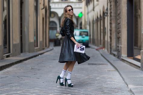 Celana Denim Pradaa Sleting leather shirt dress florence alexandra lapp