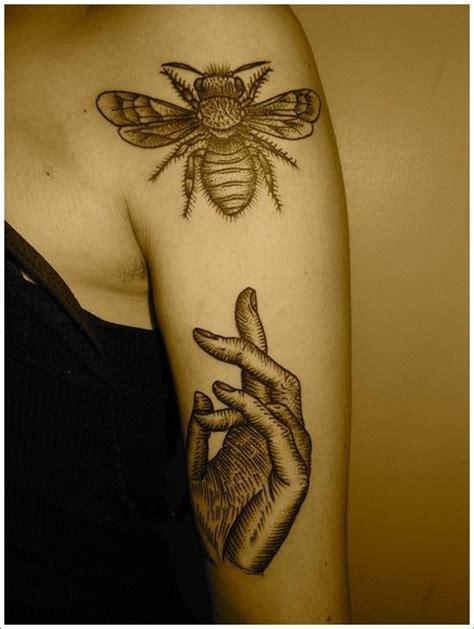 queen tattoo pinterest bee tattoo queen bee tattoo and bees on pinterest