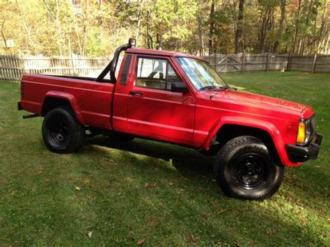 1987 Jeep Chief Sell Used 1987 Jeep Comanche Chief In Fairfield