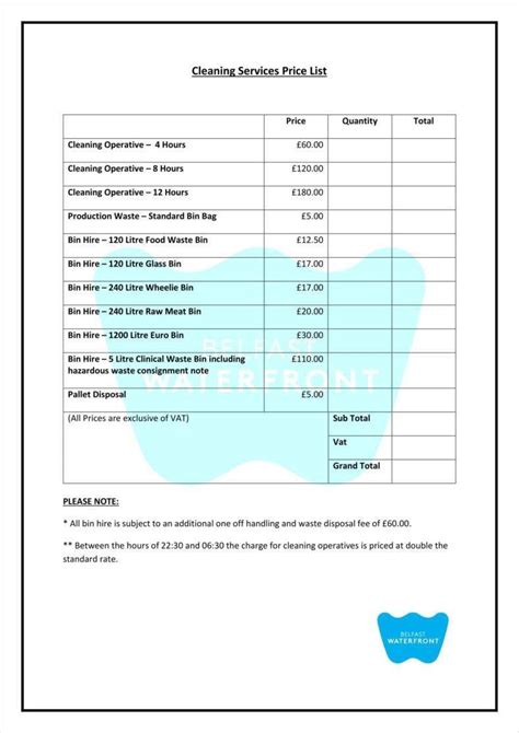 sample price proposal template 10 free documents in pdf