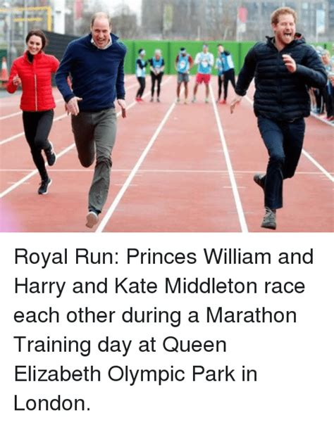 kate middleton and prince william at marathon pictures royal run princes william and harry and kate middleton
