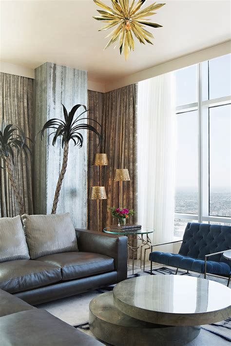 palm tree living room decor modern interiors the best from woodson rummerfield s