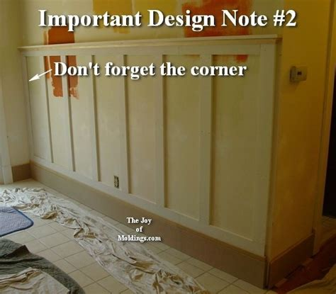Wainscoting Around Corners by How To Install Wainscoting 100 For About 10 33 Ft