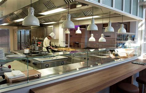 cucine a vista ristoranti best cucina a vista photos home interior ideas