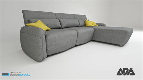 ada sofa 3d sofa navy ada model