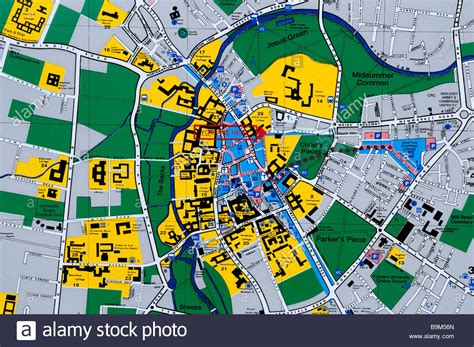 map of city centre tourist map of cambridge city centre king