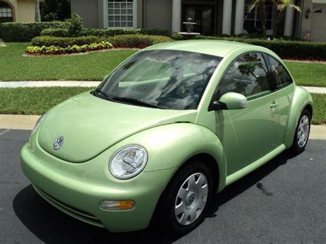 green volkswagen volkswagen beetle green