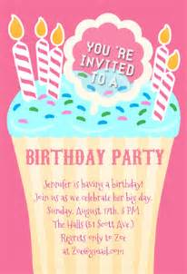 8th Birthday Invitation Templates by Birthday Invitation Templates Plumegiant
