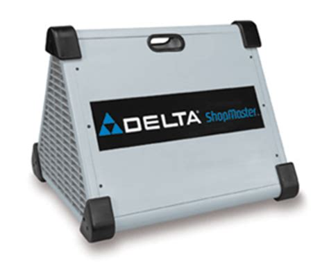 shopmaster deltas bid  cleaner air woodworking
