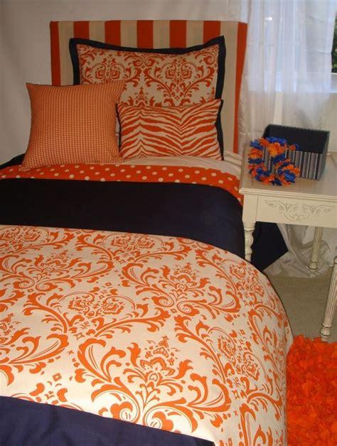 cute dorm bedding best 25 orange bedding ideas on pinterest navy orange