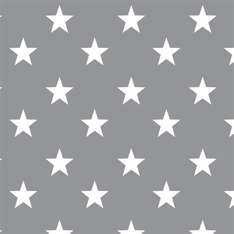 wallpaper grey with white stars cotton classics grey stars large white star on grey