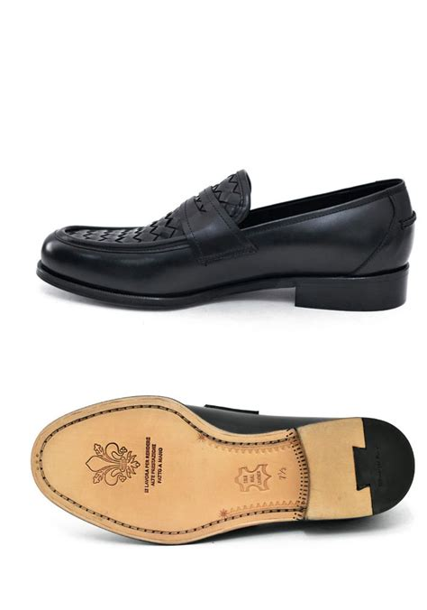 premium loafers shoes premium leather braided loafer shoes 392