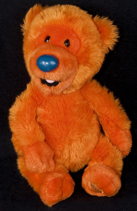 bear in big blue house le chat noir boutique disney bear in the big blue house ojo orange bear 16 quot plush
