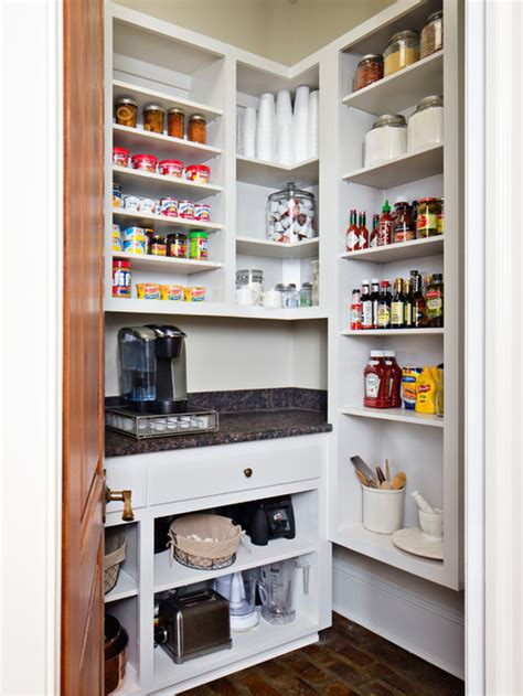 small kitchen open pantry hawk