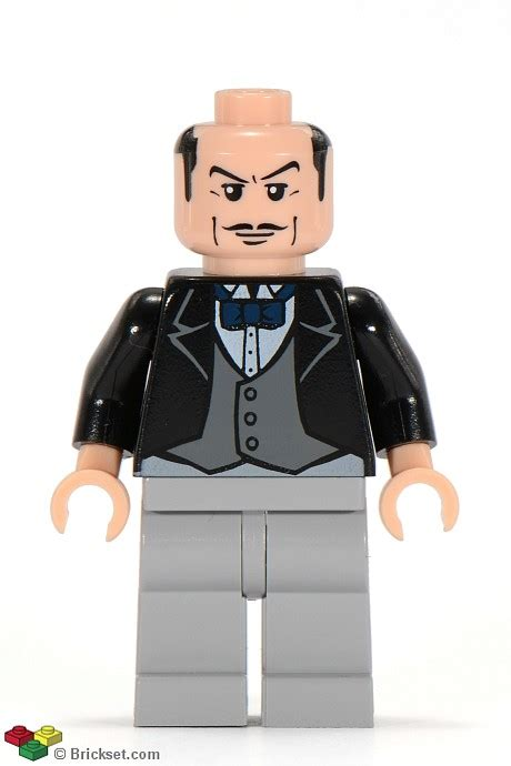 Lego Alfred The Buttler batman i brickset lego set guide and database