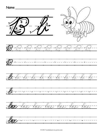 print handwriting worksheets with arrows the 25 best cursive b ideas on pinterest cursive c