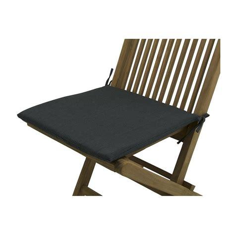 cojin silla jardin cojin para silla teca de jardin lux antracita pack 6