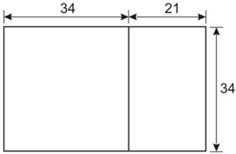 golden section dimensions golden ratio
