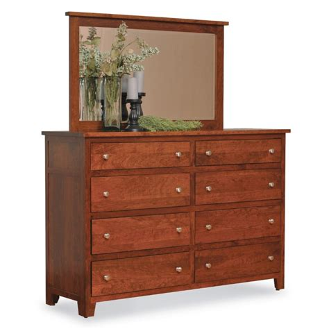 Large Bedroom Dressers by Large Dresser Mirror Amish Large