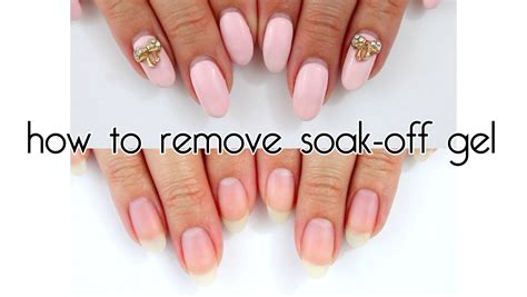 Soak Gel Nails by Gel Nails Soak How You Can Do It At Home Pictures