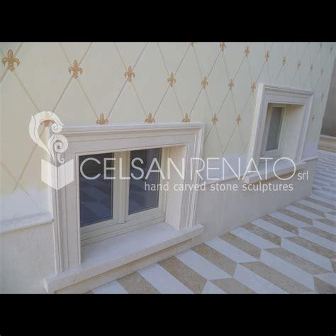 cornici in pietra realizzazione cornici per porte e finestre in pietra di