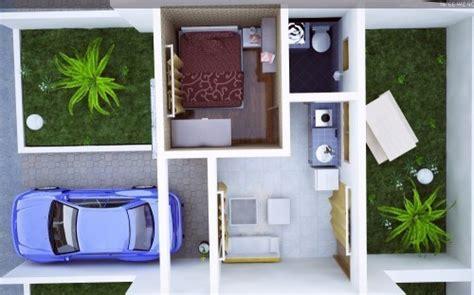 gambar desain interior rumah minimalis tipe  beserta denahnya
