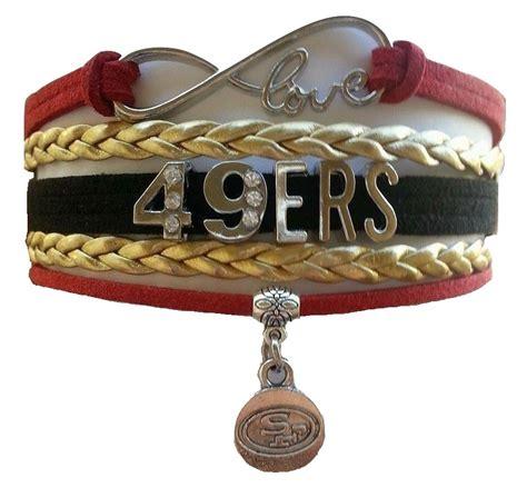 sf 49ers fan store san fransisco sf 49ers football fan shop infinity bracelet